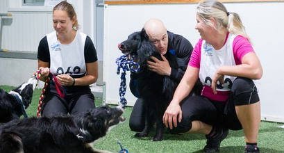 OneMind Dogs Coaches Janita and Tuulia win the Agility World Championship Tryouts!