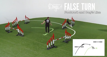 False Turn - Footwork And Dog's Line