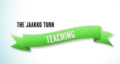 Jaakko Turn - Teaching