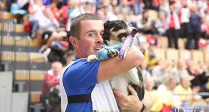 OneMind Dogs Coach Nicola Giraudi and Eira – Agility World Champions 2018!