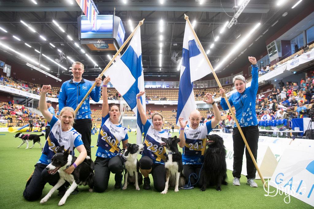 Agility Team Finland Large 2018
